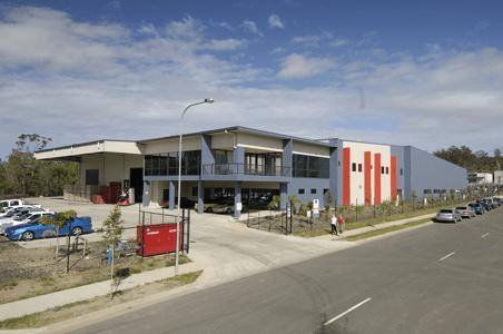 Established factory at Carole Park