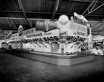 Tristram's display Brisbane Exhibition